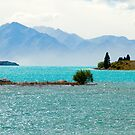 lake tekapo in new zealand by milena boeva