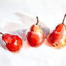 Red Pears by Aleksandra Kabakova