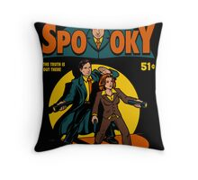 Spooky Comic Throw Pillow