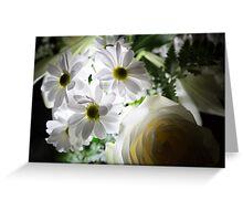 Glowing daisies Greeting Card