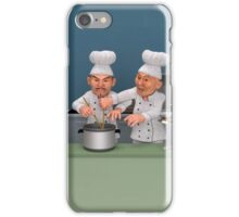 Too Many Cooks 3 - You're Doing It Wrong! iPhone Case/Skin