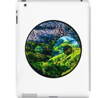 Earth Yin yang iPad Case/Skin
