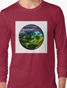 Earth Yin yang Long Sleeve T-Shirt