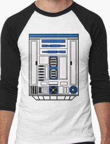 R2D2 Men's Baseball ¾ T-Shirt
