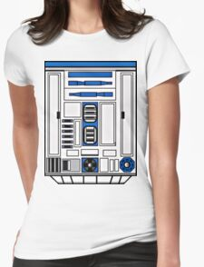 R2D2 Womens Fitted T-Shirt