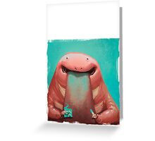 Lick me Greeting Card