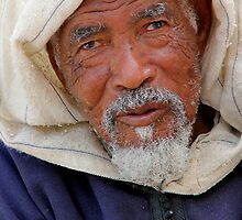 Old Man, Fes Morocco by Debbie Pinard