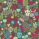 The garden. by Ekaterina Panova