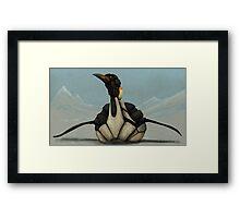 Mecha-Penguin Framed Print
