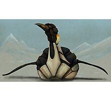 Mecha-Penguin Photographic Print