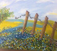 Texas Bluebonnets by Terri Holland by Terri Holland