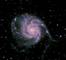 The Pinwheel Galaxy, M101 by outcast1