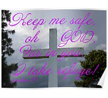 Psalms 16 Poster