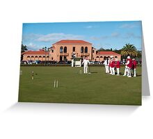croquet Greeting Card