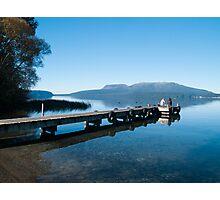 lake tarawera 2 Photographic Print
