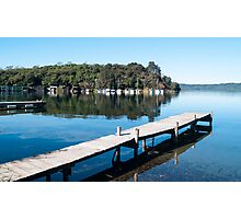 lake tarawera 3 Photographic Print