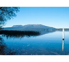 lake tarawera 4 Photographic Print