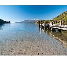 lake jetty Photographic Print