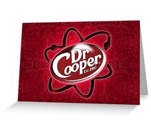 Dr. Cooper Greeting Card