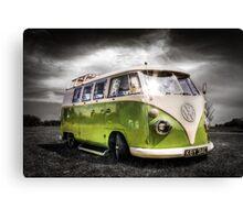 Classic VW Camper Van Canvas Print
