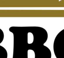 BBQ King Sticker