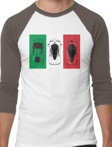 Tricolore Men's Baseball ¾ T-Shirt