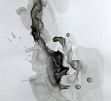 Untitled 1- Paper Round Series by Richard Sunderland