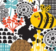 The bee. Sticker