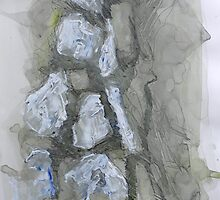 Untitled 4- Paper Round Series by Richard Sunderland