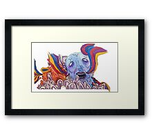 The Sea of Air (Portugal. The Man Inspired Art) Framed Print