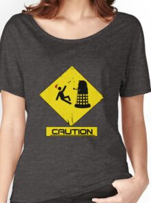 Caution Dalek! Women's Relaxed Fit T-Shirt