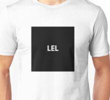 LEL black Unisex T-Shirt