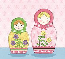Matryoshka Sisters by amalou