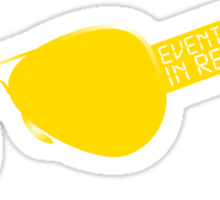 Events occur in real time Sticker