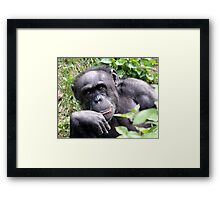 Human Thoughts Framed Print