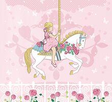Carousel Pony by amalou