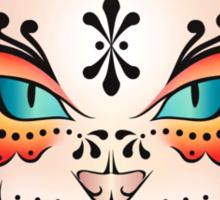 Sugar Skull Kitty Sticker