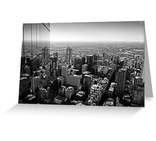 Melbourne From The Top Greeting Card