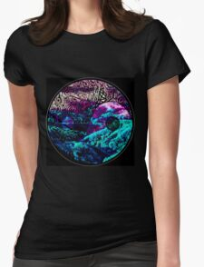 otherworldly Yin Yang Womens Fitted T-Shirt