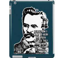 Nietschze iPad Case/Skin