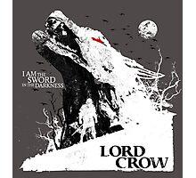 Lord Crow Photographic Print