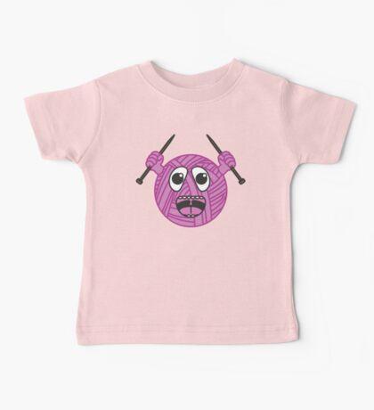 Yarnboy! - Pink Baby Tee