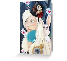 Alice  Greeting Card