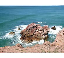'Red Rock'! New South Wales north coast, Australia. Photographic Print