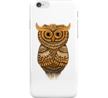'Sepia Owlbert' iPhone Case/Skin