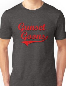 Gunset Goons (Red) Unisex T-Shirt