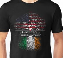 Cafferty - American Grown with Irish Roots Unisex T-Shirt