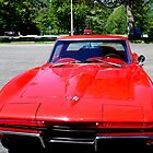 Red Corvette by Meghan1980