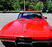 Red Corvette by Meghan1980