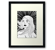 victorious girl Framed Print